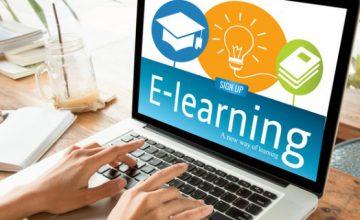 صورة التعليم الالكتروني